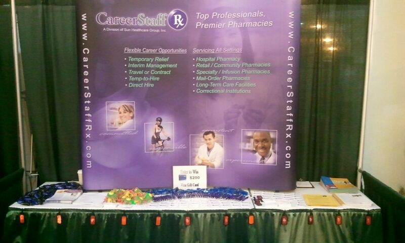 CareerStaff ASHP Booth!